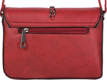 styleBREAKER Damen Umhängetasche im Envelope Design mit Kugel-Nieten, Kette und Quaste, Schultertasche, Handtasche, Tasche 02012274 – Bild 21