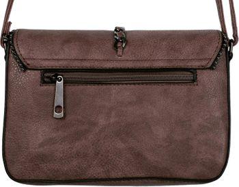 styleBREAKER Damen Umhängetasche im Envelope Design mit Kugel-Nieten, Kette und Quaste, Schultertasche, Handtasche, Tasche 02012274 – Bild 80