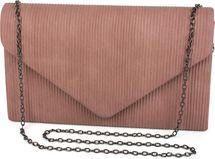 styleBREAKER Damen Envelope Clutch in Cord Optik mit Metall Zierleiste, Abendtasche, Tasche 02012275 – Bild 6