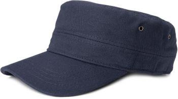 styleBREAKER Cap im Military-Stil aus robustem Baumwoll Canvas, verstellbar, Unisex 04023020 – Bild 2