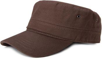 styleBREAKER Cap im Military-Stil aus robustem Baumwoll Canvas, verstellbar, Unisex 04023020 – Bild 11