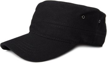 styleBREAKER cap in military style made of durable cotton canvas, adjustable 04023020 – Bild 8
