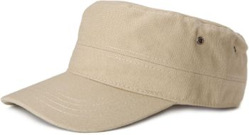 styleBREAKER cap in military style made of durable cotton canvas, adjustable 04023020 – Bild 1
