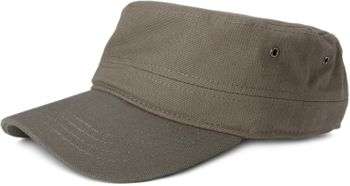 styleBREAKER Cap im Military-Stil aus robustem Baumwoll Canvas, verstellbar, Unisex 04023020 – Bild 9