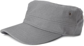 styleBREAKER Cap im Military-Stil aus robustem Baumwoll Canvas, verstellbar, Unisex 04023020 – Bild 10