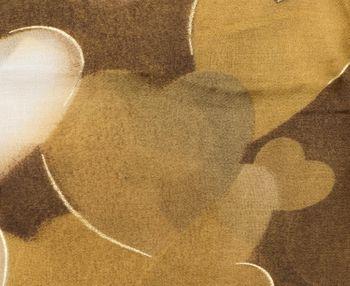 styleBREAKER Damen Schal mit Metallic Herzen und Fransen, Tuch 01017084 – Bild 8