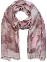 styleBREAKER Damen Schal mit Metallic Herzen und Fransen, Tuch 01017084 – Bild 1