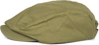 styleBREAKER Unisex Cabrio Cap einfarbig, Schiebermütze, verstellbar, Newsboy Cap, Schiebermütze, Schirmmütze 04023004