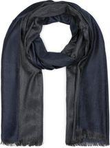 styleBREAKER Unisex Schal 2-farbig meliert mit Fransen, Winter, Tuch 01017090 – Bild 13