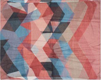 styleBREAKER Damen Loop Schal mit geometrische Dreieck Zacken, Schlauchschal, Tuch 01017091 – Bild 14