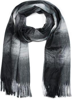 styleBREAKER Unisex Schal mit Karo Muster und Fransen, Winter, Stola, Tuch 01017098 – Bild 5