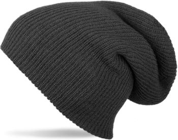 styleBREAKER beanie, slouch, long knitted hat, double knitted 04024004 – Bild 10