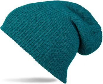 styleBREAKER Beanie Mütze, Slouch, überlange Strickmütze, doppelt gestrickt, warm, Unisex 04024004 – Bild 4