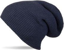 styleBREAKER Beanie Mütze, Slouch, überlange Strickmütze, doppelt gestrickt, warm, Unisex 04024004 – Bild 3