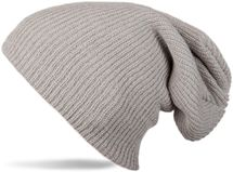 styleBREAKER beanie, slouch, long knitted hat, double knitted 04024004 – Bild 5