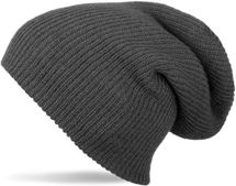 styleBREAKER beanie, slouch, long knitted hat, double knitted 04024004 – Bild 2