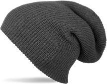 styleBREAKER Beanie Mütze, Slouch, überlange Strickmütze, doppelt gestrickt, warm, Unisex 04024004 – Bild 1