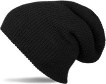 styleBREAKER beanie, slouch, long knitted hat, double knitted 04024004 – Bild 1