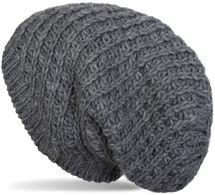 styleBREAKER Unisex Strick Beanie Mütze grob gestrickt, Slouch Longbeanie, Winter Strickmütze 04024158 – Bild 1