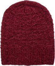 styleBREAKER Unisex Chenille Beanie Mütze mit Waben Strick Muster und Fleece Futter, Winter Slouch Longbeanie 04024160 – Bild 18