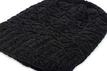 styleBREAKER Unisex Chenille Beanie Mütze mit Waben Strick Muster und Fleece Futter, Winter Slouch Longbeanie 04024160 – Bild 15