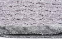 styleBREAKER Unisex Chenille Loop Schal mit Waben Muster und Fleece Futter, Schlauchschal 01018159 – Bild 28