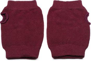 styleBREAKER Damen Fingerlose Strick Handschuhe mit Strass, Winter Strickhandschuhe 09010017 – Bild 3