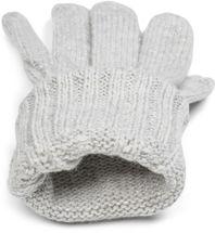 styleBREAKER Damen Strick Handschuhe mit Zopfmuster, Metallic Look und doppeltem Bund, Winter Strickhandschuhe 09010018 – Bild 9