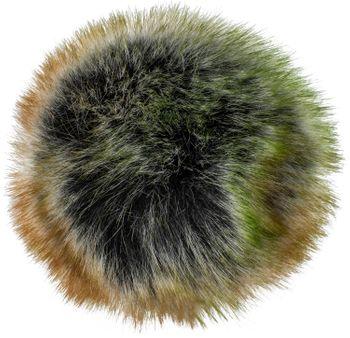 styleBREAKER Kunstfell Bommel für Mützen und Beanies, Fake Fur, Winter Fellbommel 04024161 – Bild 13