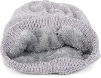 styleBREAKER Unisex Chenille Beanie Mütze einfarbig mit Fleece Futter, Winter Slouch Longbeanie 04024162 – Bild 32