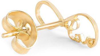 styleBREAKER Damen Edelstahl Ohrringe mit Infinity 'Love' Symbol, Ohrstecker, Ohrschmuck 05090007 – Bild 10