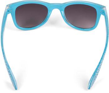 styleBREAKER Mädchen Nerd Sonnenbrille mit Strass, Kunststoff Rahmen und Polycarbonat Flachgläsern, Kinder 09020087 – Bild 23