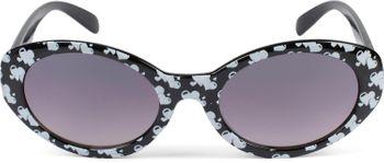 styleBREAKER Mädchen Sonnenbrille mit ovalen Gläsern und Herzchen Muster, Kunststoff Rahmen und Polycarbonat Flachgläsern, Kinder 09020088 – Bild 9