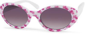 styleBREAKER Mädchen Sonnenbrille mit ovalen Gläsern und Herzchen Muster, Kunststoff Rahmen und Polycarbonat Flachgläsern, Kinder 09020088 – Bild 15