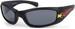 styleBREAKER Kinder Sport Sonnenbrille mit Flammen Print, Kunststoff Rahmen und Polycarbonat Gläser, Vollrand 09020089