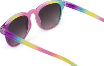 styleBREAKER Kinder Nerd Sonnenbrille mit buntem Rahmen, Kunststoff Rahmen und Polycarbonat Flachgläsern 09020090 – Bild 20