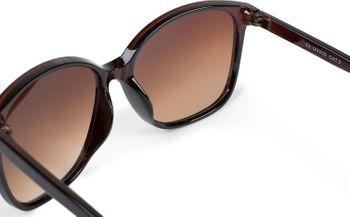 styleBREAKER Damen Sonnenbrille Oversize mit ovalen Polycarbonat Gläsern und Kunststoff Gestell, Retro Style 09020092 – Bild 19