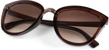 styleBREAKER Damen Cateye Sonnenbrille mit Metallsteg, Kunststoff Rahmen und Polycarbonat Gläser, Katzenaugen Form, Retro Look 09020093 – Bild 20