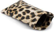 styleBREAKER Etui für Sonnenbrillen mit Leoparden Muster und Putztuch, Brillenetui mit Schnappverschluss, Unisex 09020096 – Bild 1