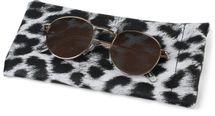 styleBREAKER Etui für Sonnenbrillen mit Leoparden Muster und Putztuch, Brillenetui mit Schnappverschluss, Unisex 09020096 – Bild 10