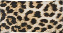 styleBREAKER Etui für Sonnenbrillen mit Leoparden Muster und Putztuch, Brillenetui mit Schnappverschluss, Unisex 09020096 – Bild 3