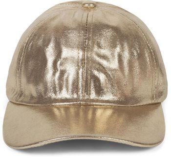 styleBREAKER Damen 6-Panel Cap im Metallic Look, Baseball Cap, Basecap, verstellbar 04023065 – Bild 8