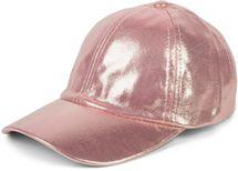 styleBREAKER Damen 6-Panel Cap im Metallic Look, Baseball Cap, Basecap, verstellbar 04023065 – Bild 1