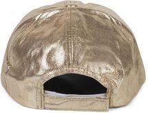 styleBREAKER Damen 6-Panel Cap im Metallic Look, Baseball Cap, Basecap, verstellbar 04023065 – Bild 9