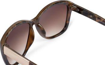 styleBREAKER Damen Oversize Sonnenbrille mit Metall Detail am Bügel, ovalen Polycarbonat Gläsern und Kunststoff Gestell, Retro Style 09020099 – Bild 26
