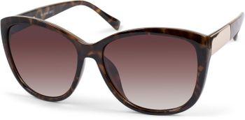 styleBREAKER Damen Oversize Sonnenbrille mit Metall Detail am Bügel, ovalen Polycarbonat Gläsern und Kunststoff Gestell, Retro Style 09020099 – Bild 22