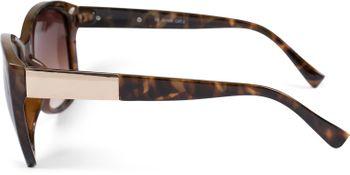 styleBREAKER Damen Oversize Sonnenbrille mit Metall Detail am Bügel, ovalen Polycarbonat Gläsern und Kunststoff Gestell, Retro Style 09020099 – Bild 24