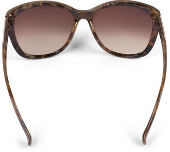 styleBREAKER Damen Oversize Sonnenbrille mit Metall Detail am Bügel, ovalen Polycarbonat Gläsern und Kunststoff Gestell, Retro Style 09020099 – Bild 25