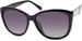 styleBREAKER Damen Oversize Sonnenbrille mit Metall Detail am Bügel, ovalen Polycarbonat Gläsern und Kunststoff Gestell, Retro Style 09020099