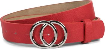 styleBREAKER Damen Gürtel Unifarben mit Ringschnalle, Hüftgürtel, Taillengürtel 03010093 – Bild 12